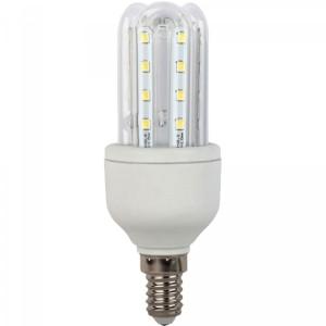 Bec LED Hoff tubular 3U E14 5W lumina calda