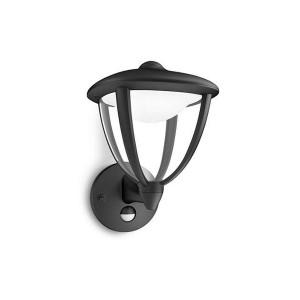 Aplica in sus exterior cu LED Robin, 4.5W, cu senzor
