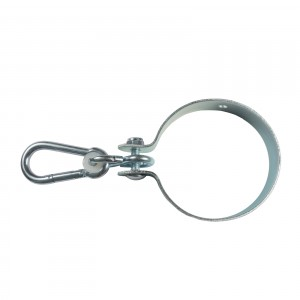 Set colier cu carabina, 120 mm