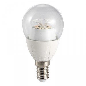 Bec LED Hoff clasic B45 E14 6W lumina rece
