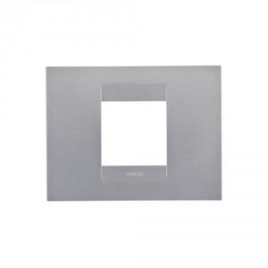 dedeman rama gewiss chorus geo gw16402vt 2 module gri titan dedicat planurilor tale. Black Bedroom Furniture Sets. Home Design Ideas