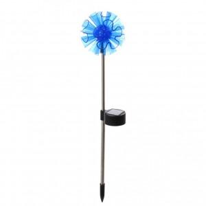 Lampa solara LED Hoff, floare, metal, plastic, 41 cm