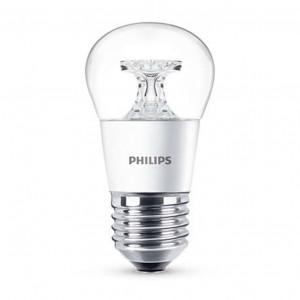 Bec LED Philips LED mini P45 E27 5.5W lumina calda
