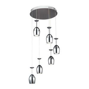 Suspensie LED Merlot 1194628, 6 x 5W