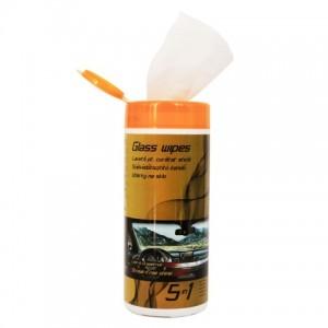 Lavete auto umede pentru parbriz, 40 bucati