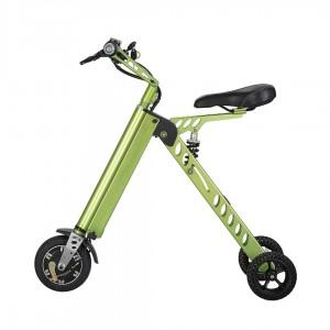 Bicicleta electrica cu 3 roti Tornado ES18 verde