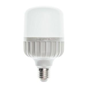 Bec LED Hepol tubular T80 E27 20W lumina calda