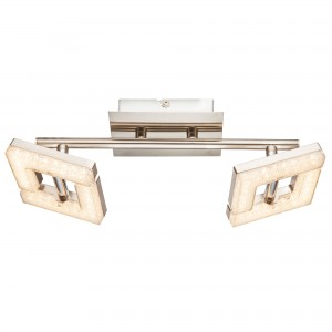 Plafoniera LED Emma 56118-2, 2 x 4W, lumina calda