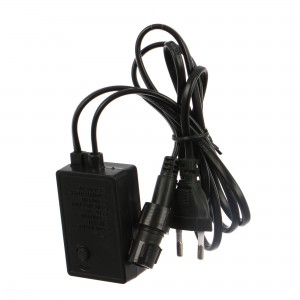 Controller pentru cablu luminos cu LED 10 metri negru NW