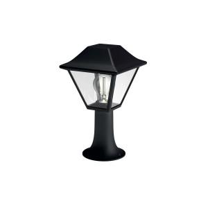 Stalp de iluminat ornamental Alpenglow 1649630PN, 1 x E27, 30 cm