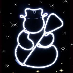 Om de zapada 360 LED-uri neon, Hoff, 47 x 35 cm