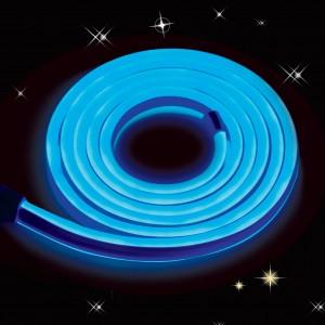 Cablu neon 120 LED / m Hoff albastru interior / exterior 5 m