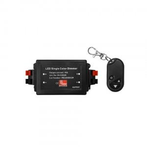 Dimmer + telecomanda pentru banda LED 8A, 12 / 24VDC, Adeleq Lumen 05-0501