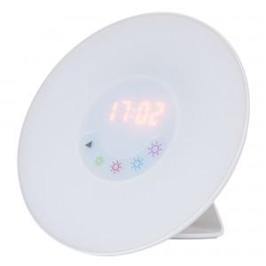 Veioza LED Penelope 4423, 1.8W + 2.7W RGB, alba