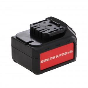 Acumulator pentru masina de gaurit Panzer CD-1492-A, 14.4 V, 1500 mAh, Li-Ion