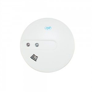 Senzor de fum PNI A022C, alimentare baterie