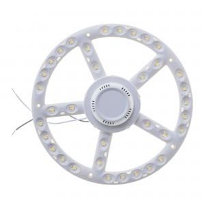 Kit modul LED Lohuis rotund 18W + driver 22 cm lumina rece