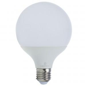 Bec LED Hepol Ecoline glob G95 E27 15W lumina calda