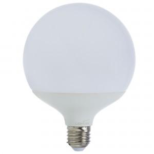 Bec LED Lohuis Ecoline glob G120 E27 18W lumina rece