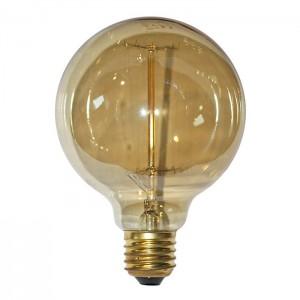 Bec decorativ glob D95 14-75405, E27, 40W