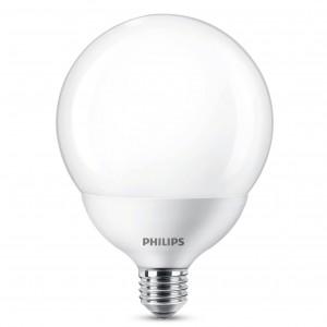 Bec LED Philips glob G120 E27 18W lumina calda