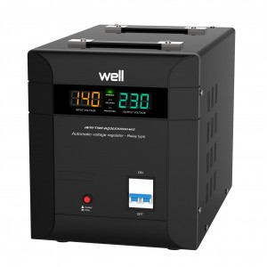 Stabilizator de tensiune triac Well Agile 10000VA / 7000W