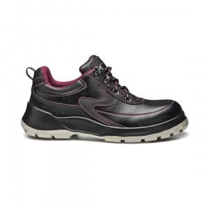 Pantofi de protectie 270 Viper cu bombeu metalic, piele, negru, S1P SRC, marimea 45