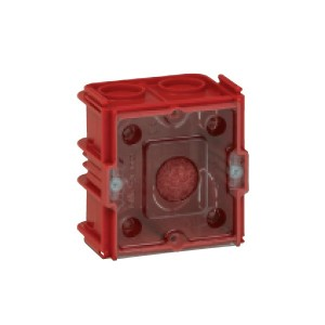 Doza aparat Legrand Batibox 080141, incastrata, clasic / modular, 2 module, 65 x 65 mm