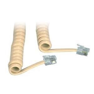Cablu prelungitor de receptor spiralat mufat TEL-0017/2-PB