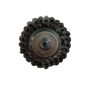 Perie  cupa pentru metale / piatra / lemn, M14, diametru 90 mm