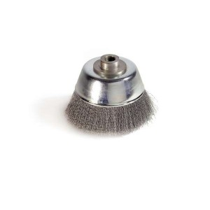 Perie  cupa, cu alezaj, pentru metale / piatra / lemn, M14, diametru 100 mm