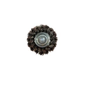Perie cupa  cu tija  D75 5221G pentru metale, piatra, lemn