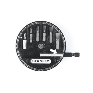 Biti pentru insurubare, profil Torx, Stanley, T 10 - T 40, set 7 bucati
