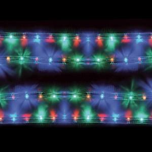 Cablu luminos LED multicolor 10m cu controler
