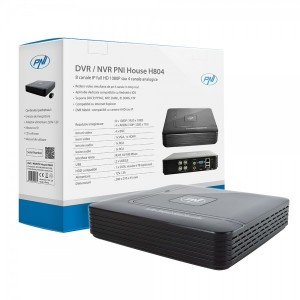 NVR PNI House H804 - 4 / 8 canale IP full HD 1080P