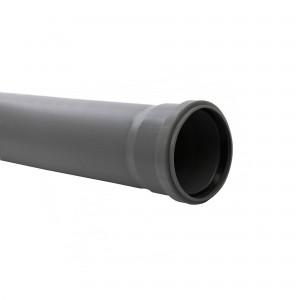 Teava PP pentru canalizare interioara, cu inel, 1000 x 125 x 3.1 mm