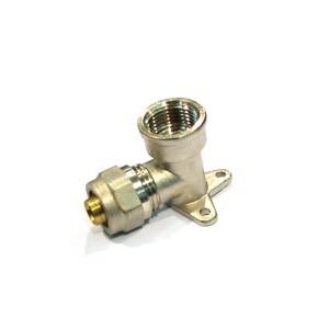 Cot alama, conector, cu placa, FI, 16 mm x 1/2 inch, 754 L