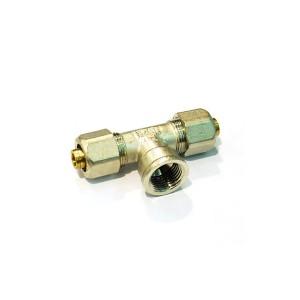 Teu alama, pentru tevi multistrat, FI, 20 mm x 1/2 inch x 20 mm, 732L