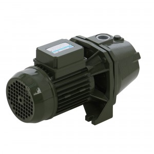 Pompa apa Saer M100-N HP 1+ ejector P30, 0.75 kW, corp fonta, Q max. 1.5 mc/h, H max. 54 m, 2850 RPM, 230 V