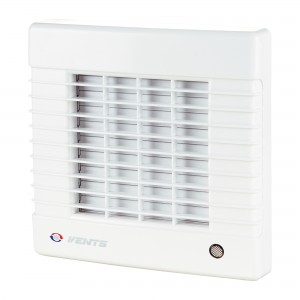 Ventilator automat si timer Vents 125 MAT, D 125 mm, 22 W, 2400 RPM, 185 mc/h