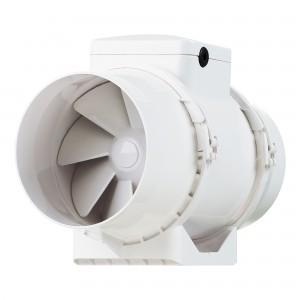 Ventilator plastic pentru tubulatura Vents TT 100, D 100 mm, 28 W, 2180/2385 RPM, 145 / 187 mc/h