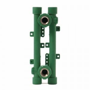 Element PPR pentru baterie sanitara, 20 mm x 1/2 inch, verde (set 2 bucati)