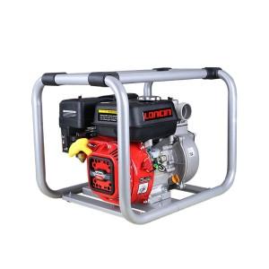 Motopompa de apa, pe benzina, Loncin, D 2 inch, 5.5 CP, motor in 4 timpi, 3.6 kw