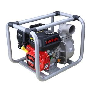 Motopompa de apa, pe benzina, Loncin, D 3 inch, 6.5 CP, motor in 4 timpi, 4.1 kw