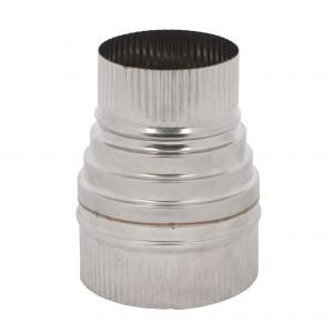 Reductie neizolata inox, D 130-100 mm