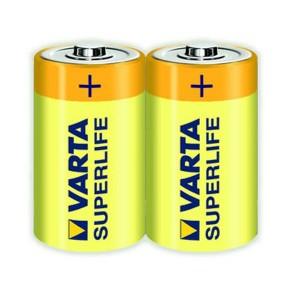 Baterie Varta Superlife 2020, R20 / D, Zinc - Carbon, 2 buc
