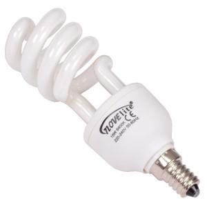 Bec economic E14 Novelite NV-5003 spiralat 15W lumina rece