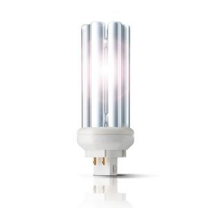 Bec economic GX24q-2 Philips Master PL-T 4P 18W lumina calda
