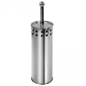 Perie WC  AWD02020317, inox, 38.5 x 9.6 x 9.6 cm