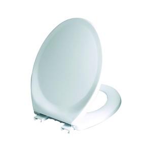 Capac WC din polipropilena Wirquin Club 40 E, alb, inchidere simpla